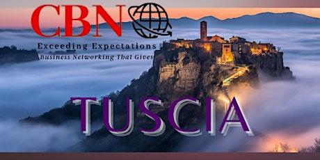 CBN TUSCIA - venerdì 23 aprile inizio ore 18.30 posti limitati a 30 biglietti