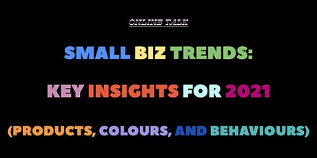 Small Business Trends: Key Insights For 2021 biljetter