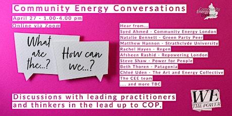 Community Energy Conversations tickets