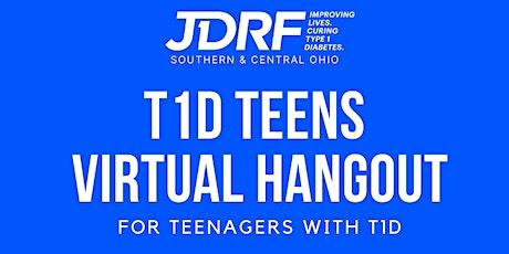 T1D Teens Virtual Hangout tickets