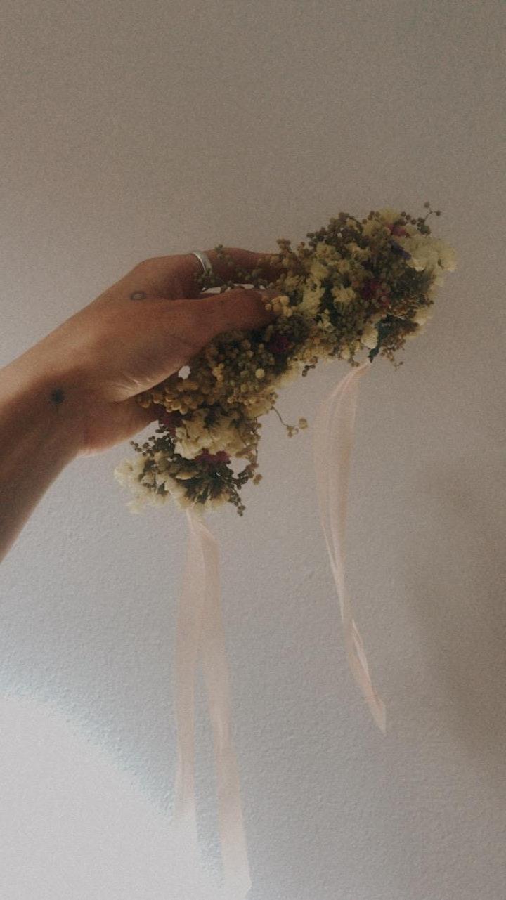 Spring Floral Crown Workshop image