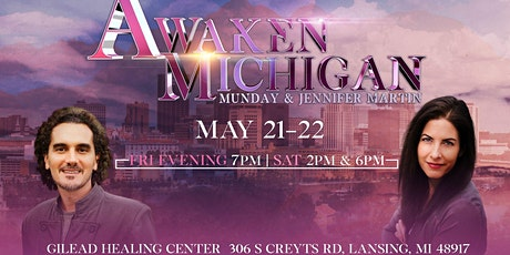Awaken Michigan with Munday & Jennifer Martin tickets