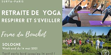 Retraite de Yoga en Sologne : respirer et s'épanouir en pleine nature billets