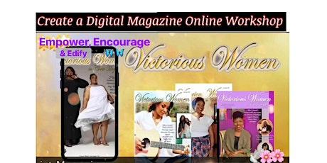 Digital Magazine  Workshop tickets
