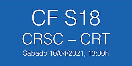 Cuartos Final Ll. Cat.  S18  CRSC - CR Tarragona, sábado 10/04/21 - 13.30h entradas