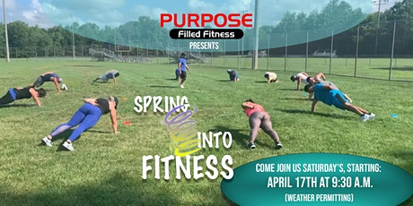 SPRING into Fitness tickets