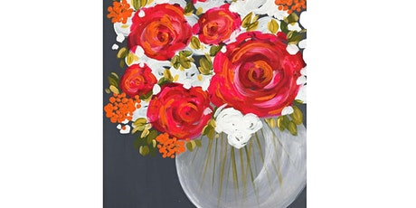Paints & Pints at 7 Dogs Brew Pub - Color~FULL Bouquet w/ Abby tickets
