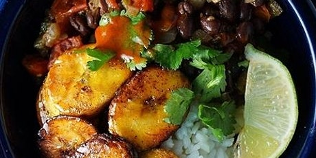 UBS - Virtual Cooking Class: Vegan Plantain Bowl with Ancho Sauce tickets