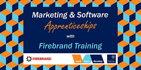 Marketing & Software Apprenticeships with Firebrand| Apprenticeship Expo tickets