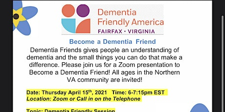 Become a Dementia Friend - Info Session tickets
