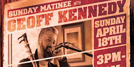 Sunday Matinee with Geoff Kennedy tickets