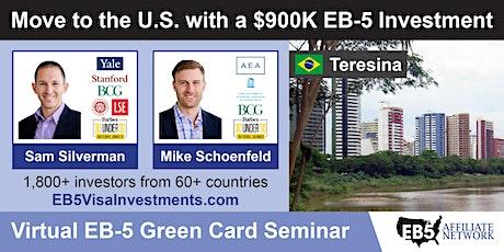 U.S. Green Card Virtual Seminar – Teresina, Brazil tickets