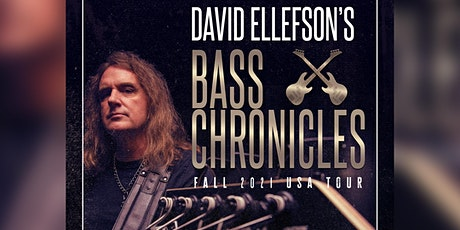 David Ellefson's Bass Chronicles Fall 2021 USA Tour tickets