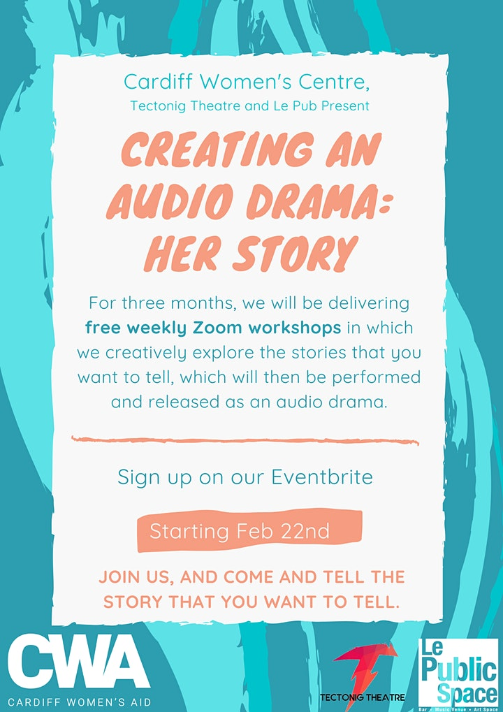 Creating an Audio Drama: Her Story (online) image