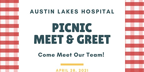 Austin Lakes Hospital  - Picnic Meet and Greet tickets