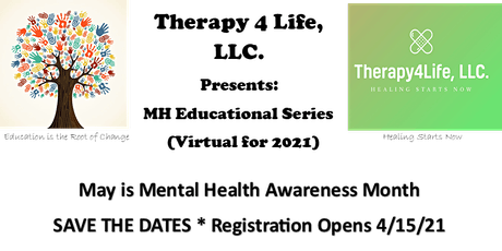 MH Awareness Month Educational Series tickets