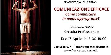 COMUNICAZIONE EFFICACE - Come comunicare in modo appropriato? biglietti