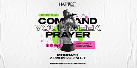 Command Your Week Prayer tickets