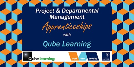 Management Apprenticeships with Qube Learning| Apprenticeship Expo tickets