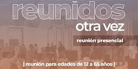Reunión Presencial (11 de Abril) boletos