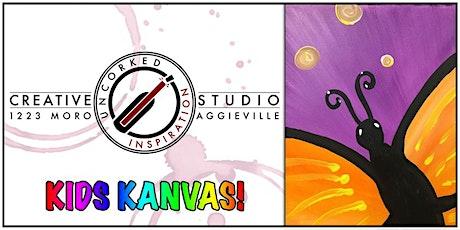 Kids Kanvas | Butterfly tickets