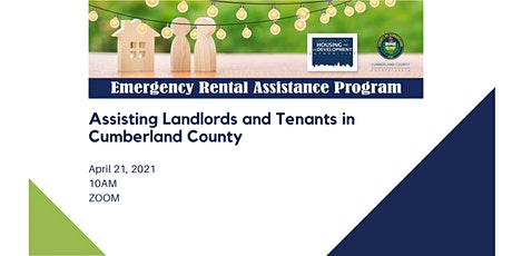 Cumberland County Emergency Rental Assistance Program  for Landlords tickets