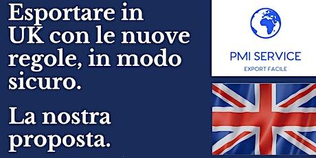 Esportare in UK post Brexit biglietti