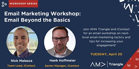 Email Marketing Workshop:  Email Beyond the Basics entradas