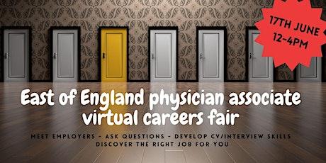 East of England physician associate VIRTUAL careers fair tickets