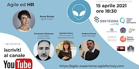 Agile Experience Conference: Agile ed HR biglietti