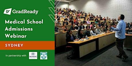 Medical School Admissions Webinar (Sydney) | GradReady tickets