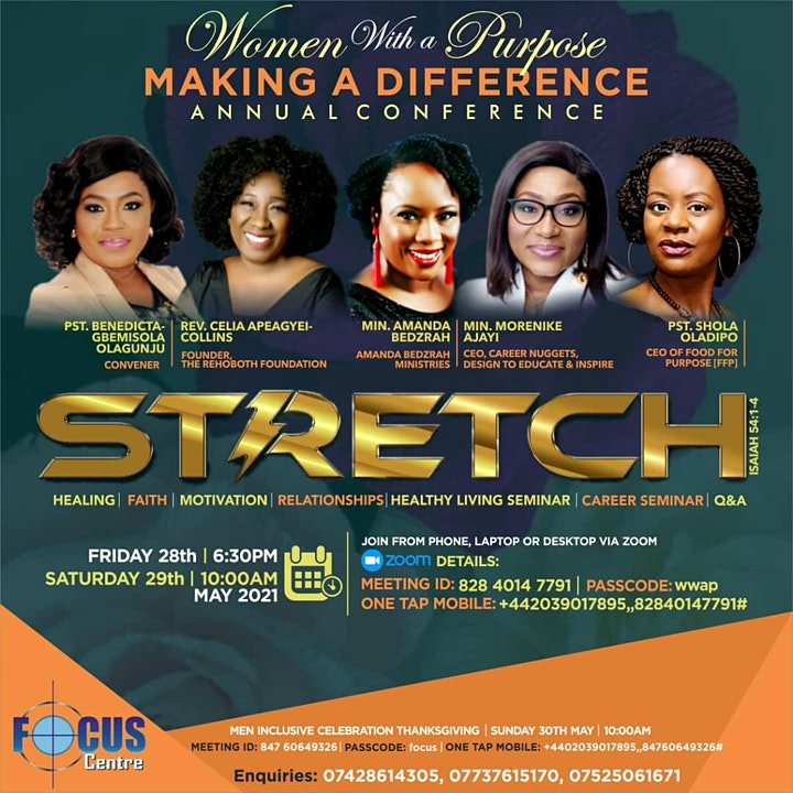 WOMEN WITH A PURPOSE   MAKING A DIFFERENCE CONFERENCE | 2 DAYS EVENT image