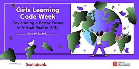 Live Online GLC*CodeWeek:VR Prototype for Good(Ages 9-12+Guardian)-Barrie tickets