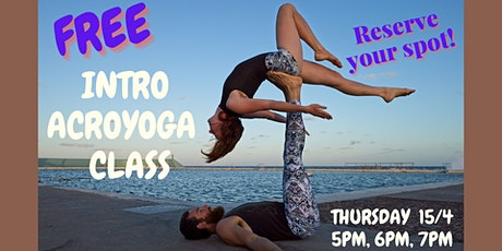 Introduction to AcroYoga(FREE) tickets