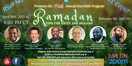 The 14th Annual Interfaith Ramadan Virtual Event tickets