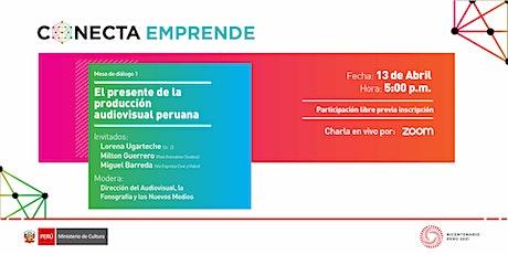 [Jornada Virtual] El presente de la producción audiovisual peruana entradas