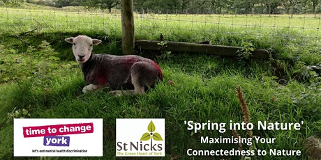Spring into Nature - Maximising Your Nature Connectedness tickets