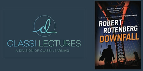 Evening with author Robert Rotenberg tickets