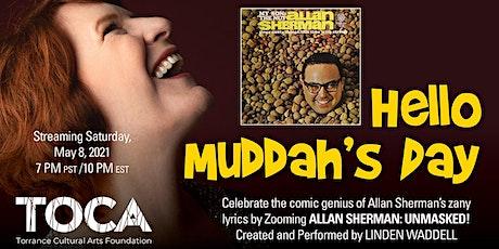 Allan Sherman: Unmasked! tickets