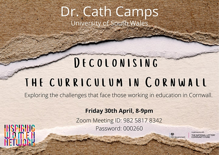 Decolonising the curriculum in Cornwall image