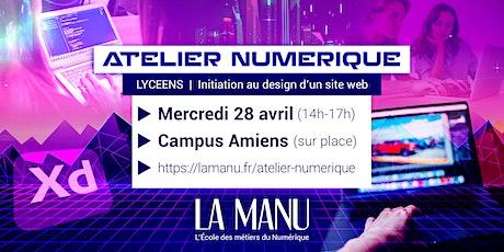 Atelier Numérique sur le campus Amiens (accessible aux lycéens) billets