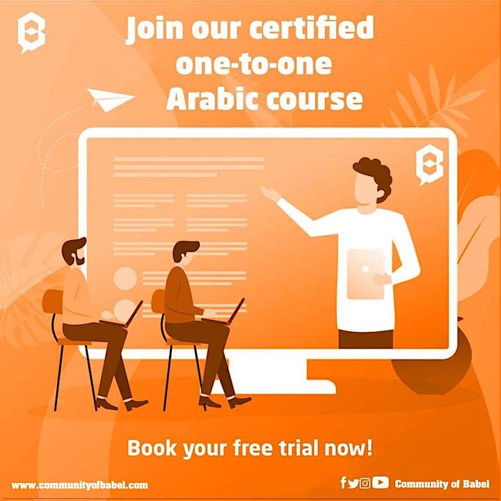 Free online Arabic classes image