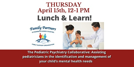 The Pediatric Psychiatry Collaborative: Managing your Child's Mental Health tickets