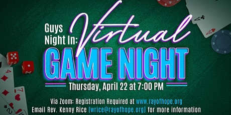 Guy's Night In Game Night tickets