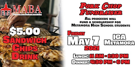 Pork Chop Fundraiser tickets