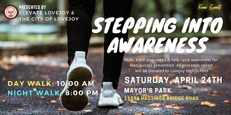 Stepping Into Awareness tickets