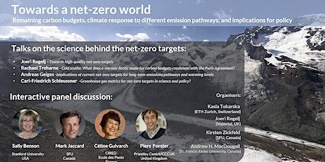 Towards a net-zero world tickets