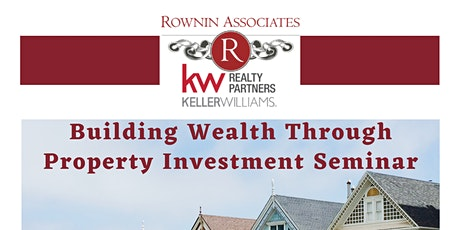Building Wealth Through Property Investment Seminar tickets