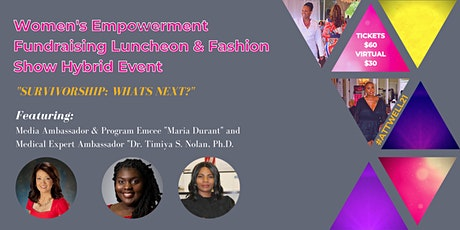 ATT's 4th Annual Women's Empowerment Fundraising Lunch/Fashion Show HYBRID! tickets