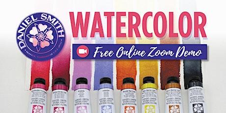 Free Daniel Smith Watercolor Zoom Demo - Portland (North) tickets